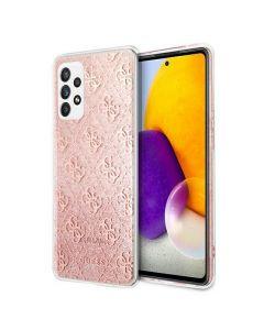 Original faceplate case GUESS GUHCA72PCU4GLPI Samsung A72 4G/ A72 5G pink
