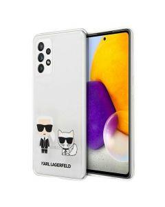 Original faceplate case KARL LAGERFELD KLHCA72CKTR Samsung A72 4G/ A72 5G transparent