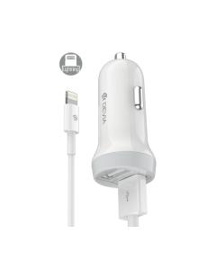 DEVIA Idrawer series smart car charger set for Lightning