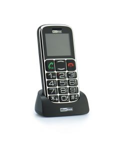 Mobile phone Maxcom MM 462BB black + docking station