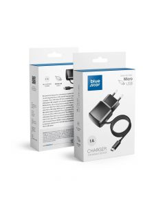 Travel Charger Micro USB Universal 1A Blue Star