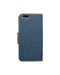 CANVAS Book case for IPHONE 6/6S navy blue