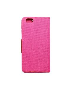 CANVAS Book case for IPHONE 6/6S pink