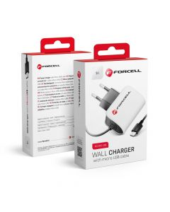 Travel Charger Micro USB Universal 1A Forcell