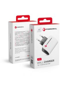 Travel Charger Universal 1A with USB socket only Forcell