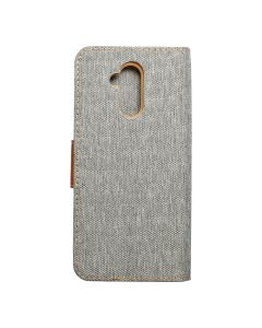 CANVAS Book case for HUAWEI Mate 20 Lite gray