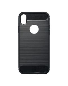 Forcell CARBON Case for IPHONE XR ( 6,1 ) black