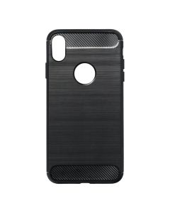 Forcell CARBON Case for IPHONE XS Max ( 6,5 ) black