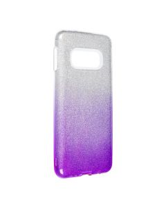 Forcell SHINING Case for SAMSUNG Galaxy S10e clear/violet