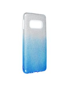Forcell SHINING Case for SAMSUNG Galaxy S10e clear/blue
