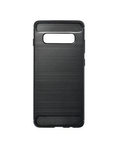 Forcell CARBON Case for SAMSUNG Galaxy S10 Plus black