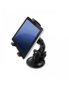 Car holder for tablets - Universal 7 - 10 (2in1 - for windshield and head restraint) (AX-01) black