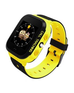 Smartwatch for kids with GPS - Flashlight Yellow ART AW-K2O