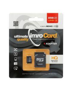 Memory Card Imro microSD 256GB with adapter / Class 10 UHS 3
