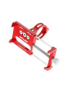 Bike holder GUB G85 red for mobile phone Metal