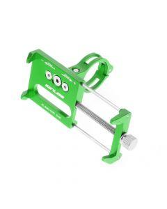 Bike holder GUB G85 green for mobile phone Metal
