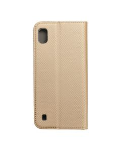 Smart Case Book for  SAMSUNG A10  gold