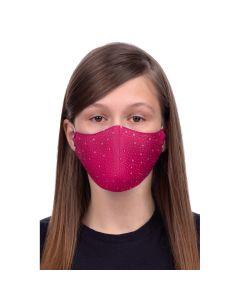 Profiled face mask for kids 8-12 -stars