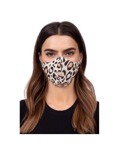 Profiled face mask - panther