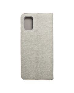 Forcell LUNA Book Gold for SAMSUNG Galaxy M51 silver