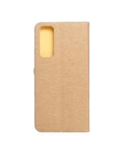 Forcell LUNA Book Gold for HUAWEI P Smart 2021 gold