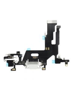 Charging Connector Flex Cable for IPHONE 11 white