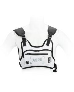 Sports bag on chest for mobile phone / keys etc white ( 4,5 - 6,5 )