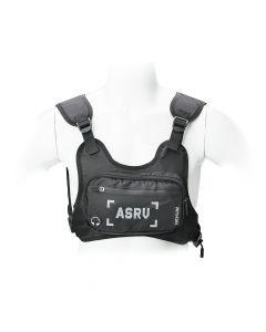 Sports bag on chest for mobile phone / keys etc black ( 4,5 - 6,5 )