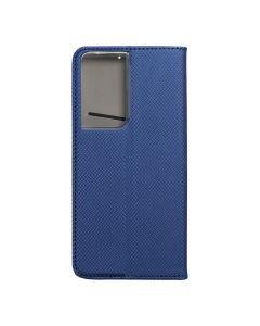 Smart Case Book for  SAMSUNG S21 Ultra  navy blue
