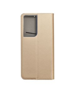 Smart Case Book for  SAMSUNG S21 Ultra  gold