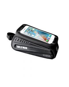 Bicycle holder / front beam bag with zipper WILDMAN ES3 1L 4- 7