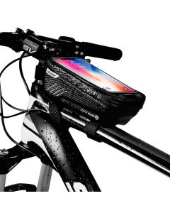 Bicycle holder / front beam bag touch screen with zipper WILDMAN E2 1L 4 - 7