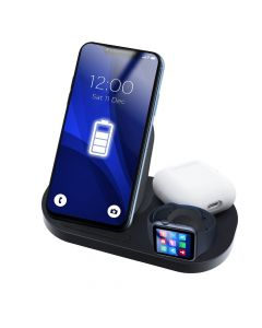 Wireless charger Qi 3in1 15W GY-Z6S black