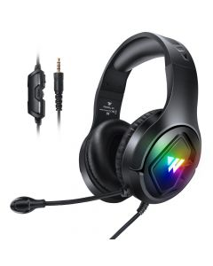 Gaming Headphones 3D Stereo Sound with Microphone Wintory M1 Black
