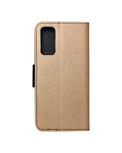 Fancy Book case for  SAMSUNG S20 FE / S20 FE 5G gold / black
