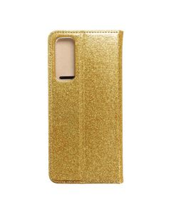 Forcell SHINING Book for  HUAWEI P SMART 2021 gold