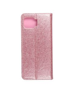 Forcell SHINING Book for  MOTOROLA MOTO G 5G Plus rose gold