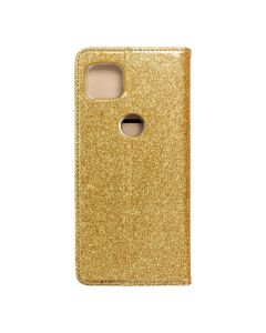 Forcell SHINING Book for  MOTOROLA MOTO G 5G gold