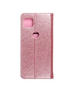 Forcell SHINING Book for  MOTOROLA MOTO G 5G rose gold