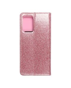 Forcell SHINING Book for  SAMSUNG A52 5G / A52 LTE ( 4G ) / A52s 5G rose gold