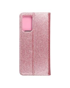 Forcell SHINING Book for  SAMSUNG A72 LTE ( 4G ) rose gold