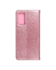 Forcell SHINING Book for  SAMSUNG S20 FE / S20 FE 5G rose gold
