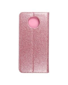 Forcell SHINING Book for  XIAOMI Redmi NOTE 9T 5G rose gold