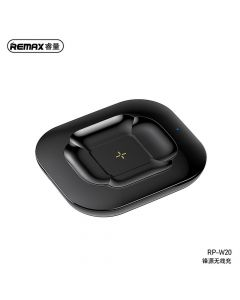 REMAX wirelles charger for AirPods Fonry 10W RP-W20 black