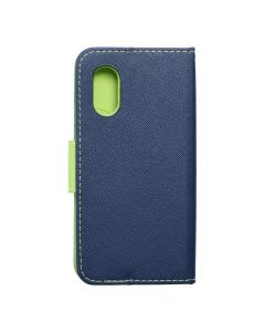 Fancy Book case for SAMSUNG XCOVER 5 navy / lime