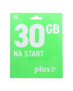 Starter Card Plus Internetowy 15zł / 30GB