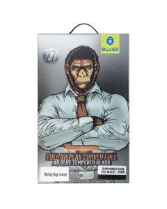 5D Mr. Monkey Glass - Huawei P30 PRO black (Full AB Glue) + Frame