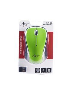 Art Optical wireless mouse USB AM-92 green