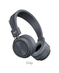 HOCO Promise wireless headphones W25 grey