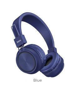 HOCO Promise wireless headphones W25 blue